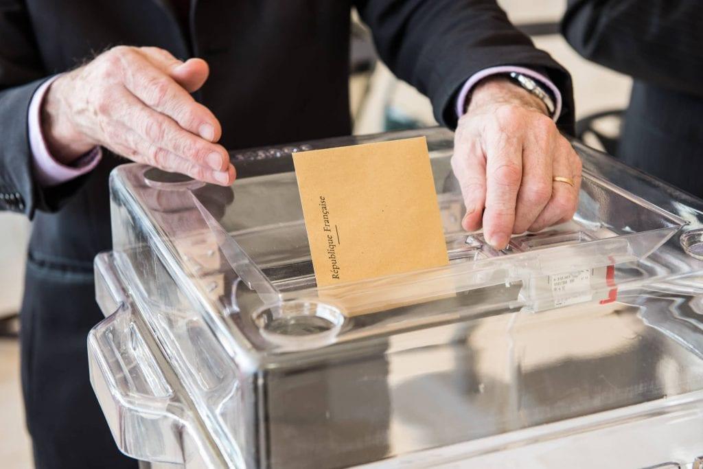 vote élection urne
