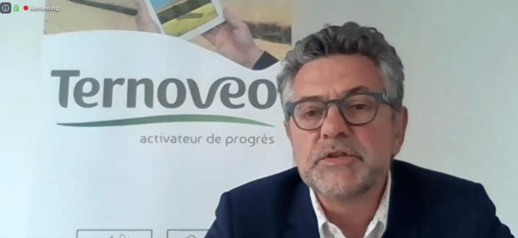Xavier Harlé directeur Ternovéo capture d'écran
