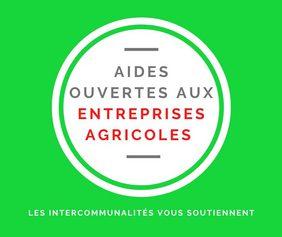Terres et Territoires - aides aux entreprises agricoles