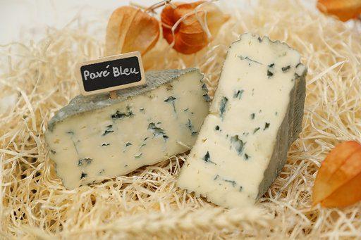 Terres et territoires - fromage Pavé bleu