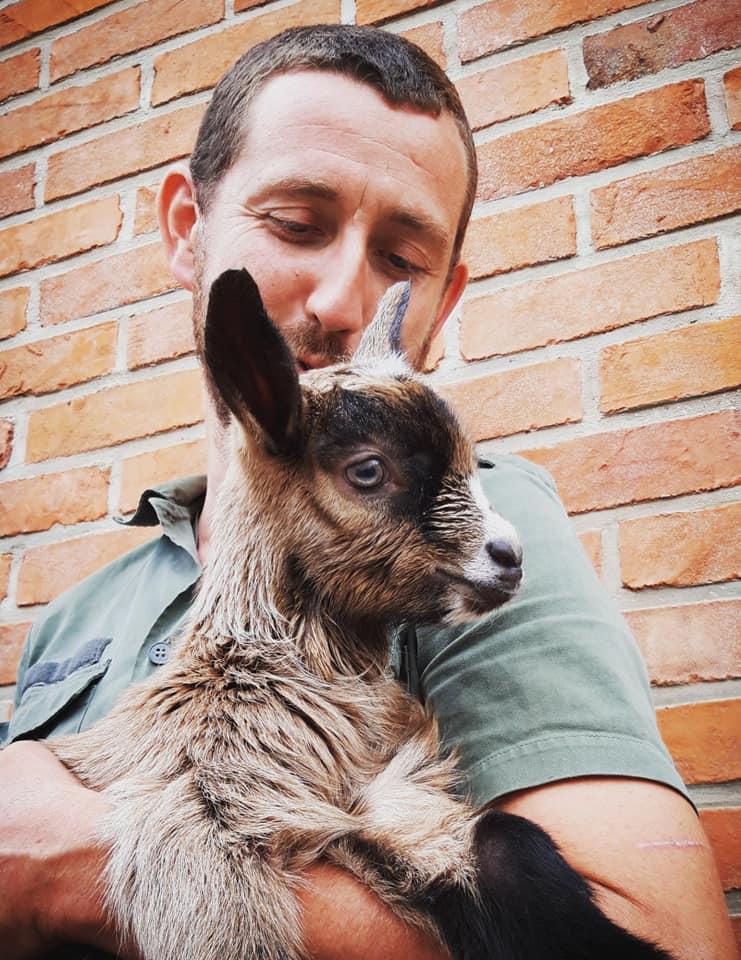 Nicolas Lemaire, éleveur de chèvres à Fressin et réserviste